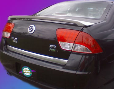 Mercury Milan   2006-2009 Custom Style Rear Spoiler - Painted