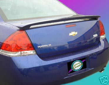 Chevrolet Impala   2006-2011 Factory Style Rear Spoiler - Primed