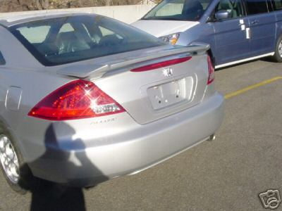 Honda Accord 2DR  2006-2007 Factory Style Rear Spoiler - Primed