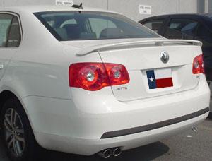 Volkswagen Jetta   2006-2009 OEM  Factory Style Rear Spoiler - Primed