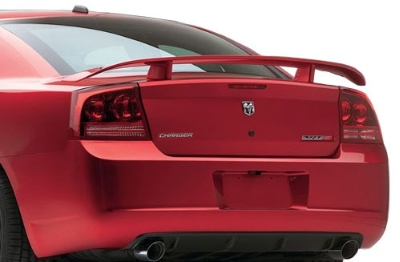 Dodge Charger   2006-2010 Datona Wing Style Rear Spoiler - Primed