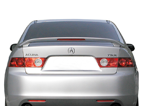Acura TSX 4DR  2009-2010 Factory Style Rear Spoiler - Primed