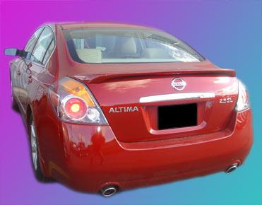 Nissan Altima 4DR  2007-2010 Factory Style Rear Spoiler - Primed