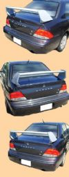 Mitsubishi Lancer  Evo 8 2003-2006 OEM  Factory Style Rear Spoiler - Painted