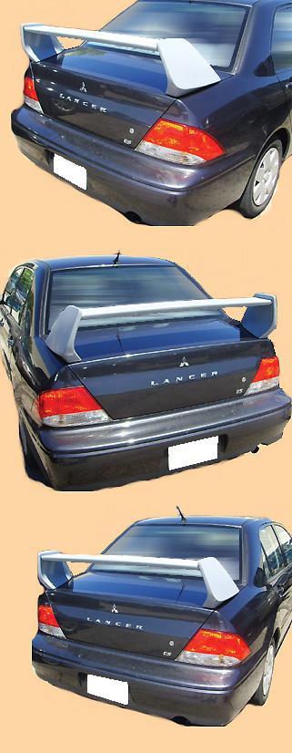 Mitsubishi Lancer  Evo 8 2003-2006 OEM  Factory Style Rear Spoiler - Primed