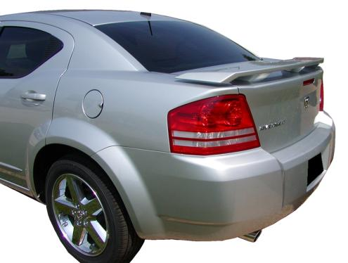 Dodge Avenger   2008-2010 Factory Style Rear Spoiler - Primed