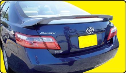 Toyota  Camry   2007-2011 Custom Style Rear Spoiler - Primed