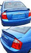 2008 Kia Spectra 4DR   Factory Style Rear Spoiler - Primed