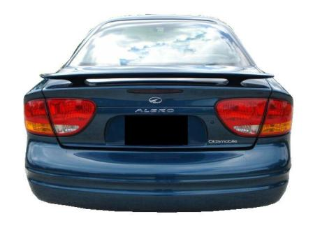 Oldsmobile Alero   1999-2004 Factory Style Rear Spoiler - Painted