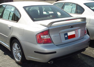 Subaru  Legacy   2005-2009 Factory Style Rear Spoiler - Painted