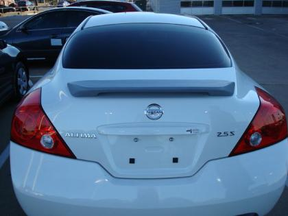 Nissan Altima 2DR  2008-2010 Factory Style Rear Spoiler - Primed