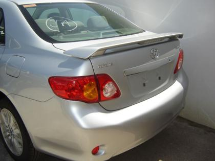 Toyota Corolla   2009-2010 Factory Style Rear Spoiler - Primed