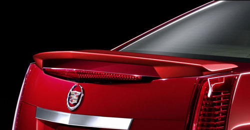 Cadillac Cts   2008-2011 Factory Style Rear Spoiler - Painted
