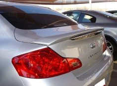 Infiniti G37 2DR  2008-2010 Factory Style Rear Spoiler - Painted