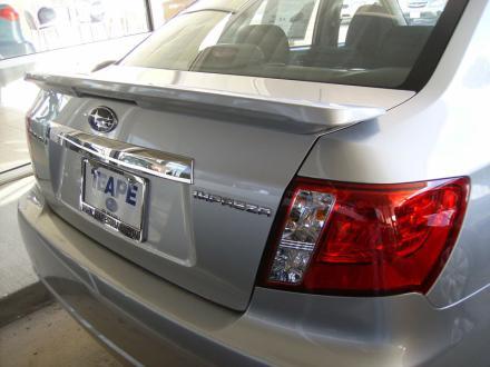 Subaru Impreza   2008-2010 OEM  Factory Style Rear Spoiler - Painted