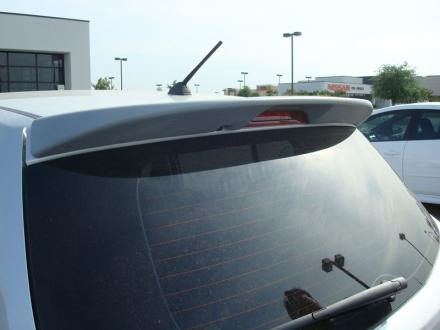 Nissan Versa   2007-2010 Roof Rear Spoiler - Painted