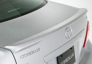 Toyota Corolla   2009-2010 Lip Style Rear Spoiler - Primed