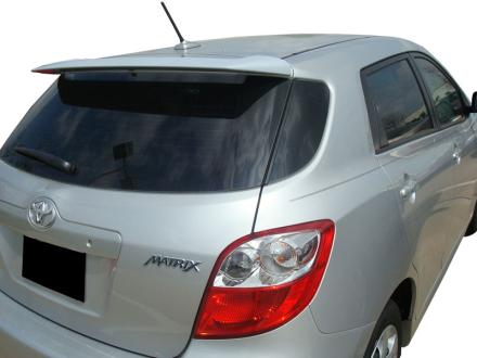 Toyota Matrix 2DR  2009-2010 Factory Style Rear Spoiler - Primed