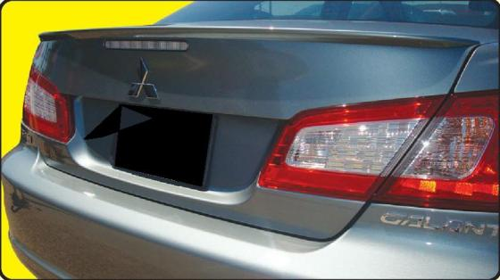 Mitsubishi Galant   2009-2010 Lip Style Rear Spoiler - Painted