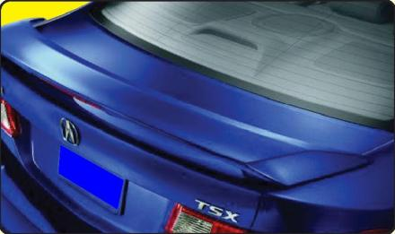 Acura TSX   2009-2010 Factory Style Rear Spoiler - Painted