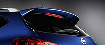 Nissan Rogue   2008-2010 Factory Style Rear Spoiler - Painted