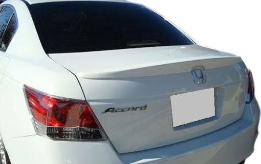 Honda Accord 4DR  2008-2010 Lip Style Rear Spoiler - Primed