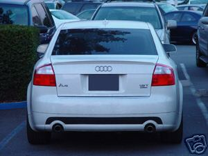Audi A4   2002-2005 Factory Style Rear Spoiler - Painted