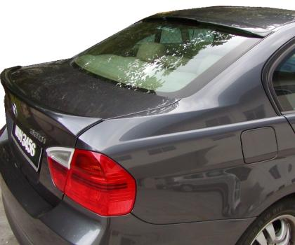 Bmw 3 Series 4DR  2006-2010 Lip Style Rear Spoiler - Primed