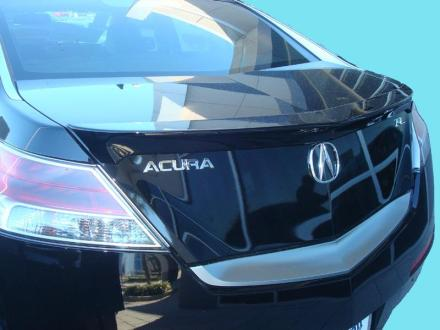 Acura TL 2009-2010 Lip Style Rear Spoiler - Primed