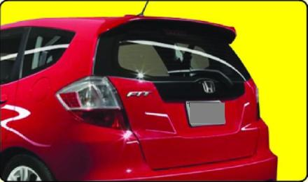 Honda Fit 2009-2010 Factory Style Rear Spoiler - Primed