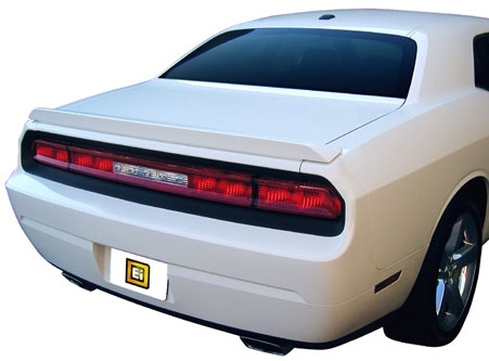 Dodge Challenger   2008-2011 Lip Style Rear Spoiler - Primed