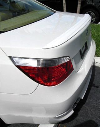 Bmw 5 Series   2004-2009 Lip Style Rear Spoiler - Primed