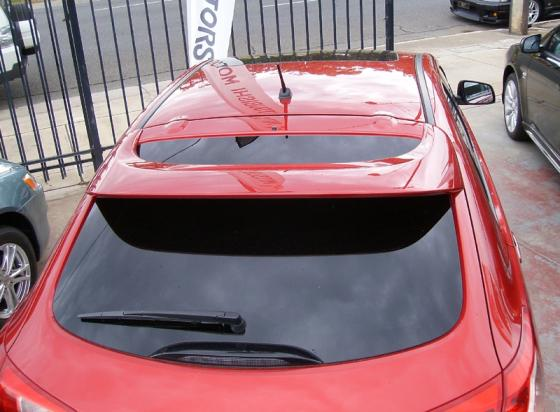 Mitsubishi Lancer 5dr  2010-2011 Factory Style Rear Spoiler - Painted