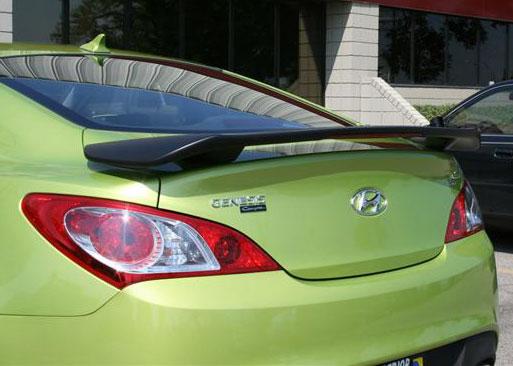 Hyundai Genesis 2DR  2010-2011 Factory Style Rear Spoiler - Primed
