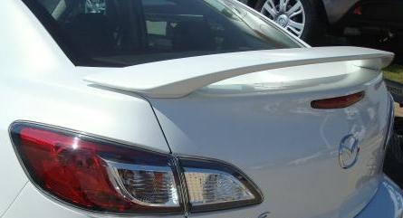 Mazda Mazda3 4DR  2010-2011 Factory Style Rear Spoiler - Primed