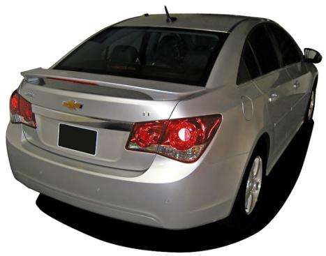 Chevrolet Cruze   2011-2011 Factory Style Rear Spoiler - Painted