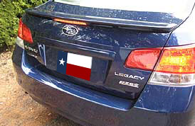 Subaru  Legacy   2010-2011 Factory Style Rear Spoiler - Painted