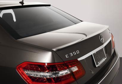 Mercedes Benz E Class 4DR E Class 2010-2011 Lip Style Rear Spoiler - Primed