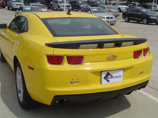 Chevrolet Camaro   2010-2011 Factory Style Rear Spoiler - Primed