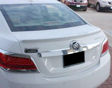 Buick Lacrosse   2010-2010 Factory Style Rear Spoiler - Primed