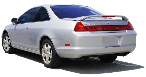 Honda Accord 2DR  1998-2002 Factory Style Rear Spoiler - Painted