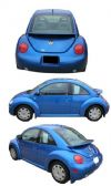 2000 Volkswagen  Beetle    OEM  Factory Style Rear Spoiler - Painted
