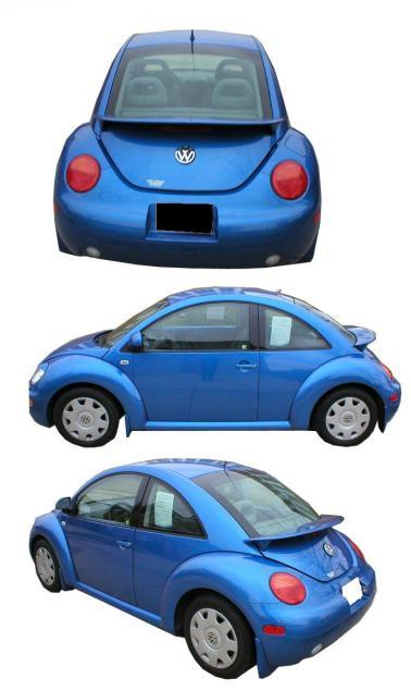 Volkswagen  Beetle   1999-2010 OEM  Factory Style Rear Spoiler - Painted