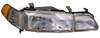 1993 Acura Integra  Passenger Side Replacement Headlight, Fog Light and Corner Light Combo