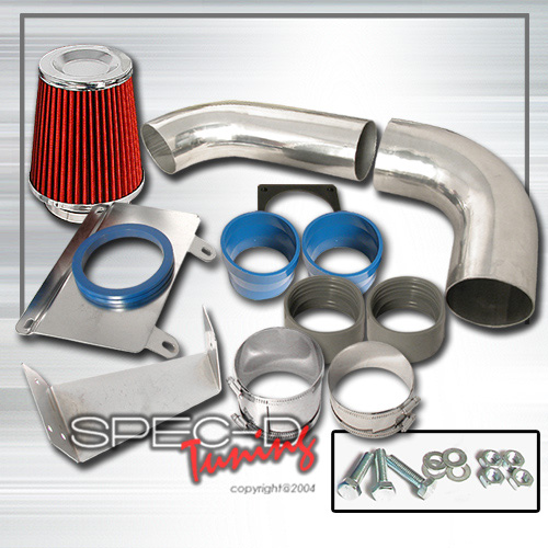 89-93 Ford Mustang 5.0 V8 Spec-D Cold Air Intake w/ Air Filter