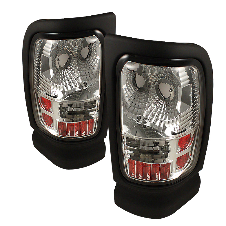 Dodge Ram 1994-2001  Chrome Euro Style Tail Lights