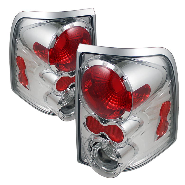Ford Explorer 2002-2005 4DR Chrome Euro Style Tail Lights