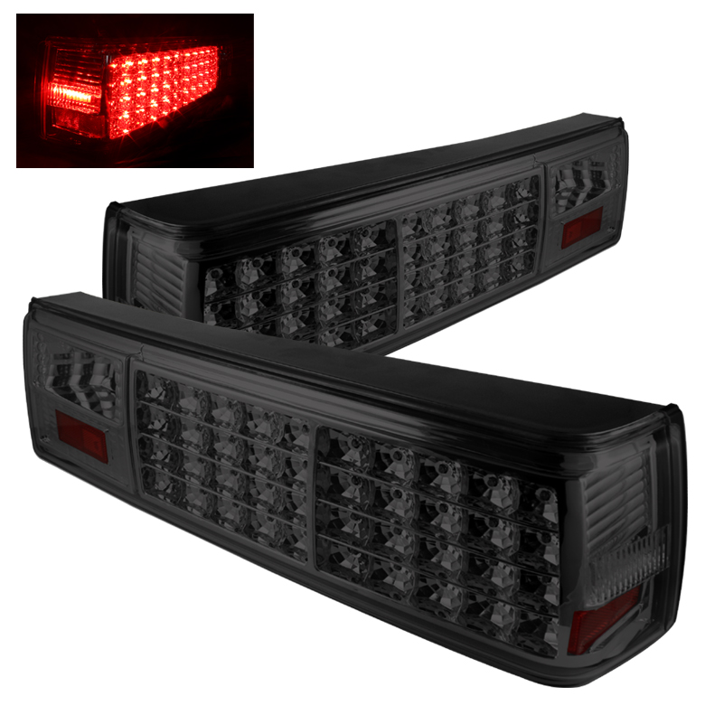 Ford Mustang 1987-1993  Smoke LED Tail Lights