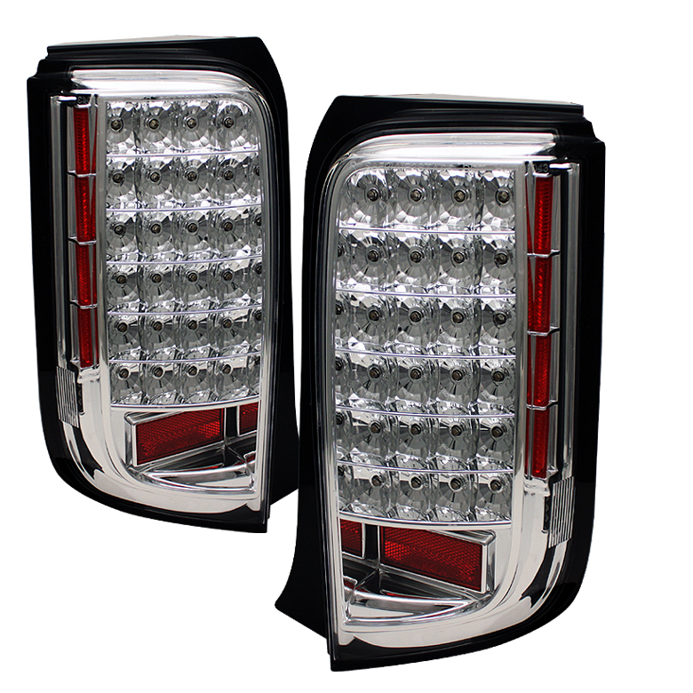 Scion XB 2008-2009  Chrome LED Tail Lights