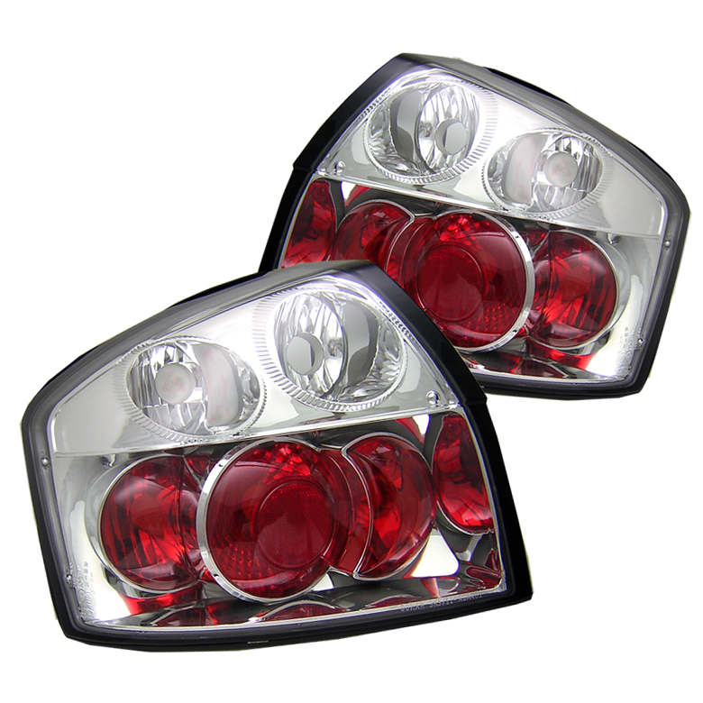Audi A4 2002-2005  Chrome Euro Style Tail Lights